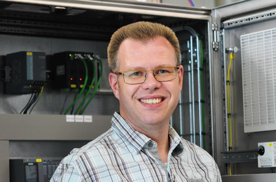 SHG Automation Geschäftsführer Dirk Lepschies