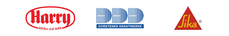 Referenzen für die SHG AUTOMATION GmbH Harry Brot, Dorstener Drahtwerke, Sika